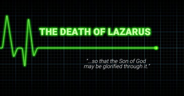 Lazarus dies