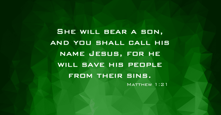 Matthew 1:21 - Utah Valley Church