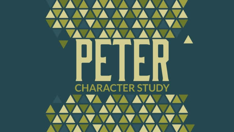 Peter – Character Study