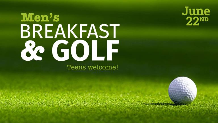 Men's Breakfast & Golf